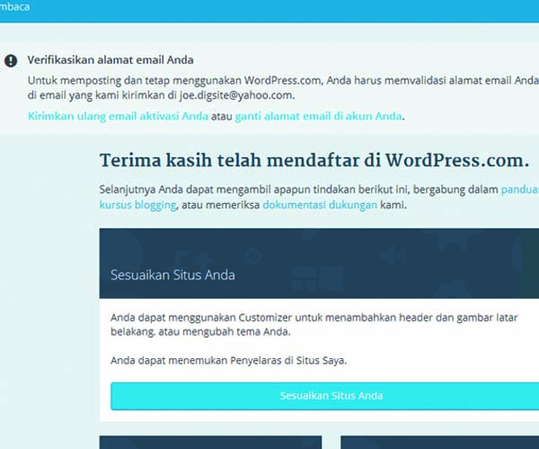 cara membuat website gratis di wordpress 06