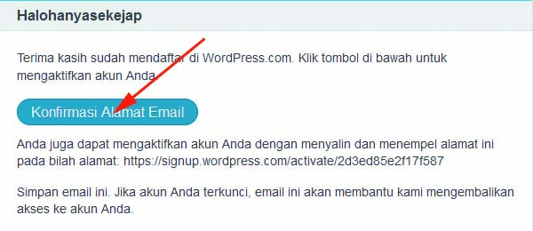 cara membuat website gratis di wordpress 07
