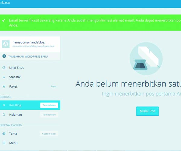 cara membuat website gratis di wordpress 08