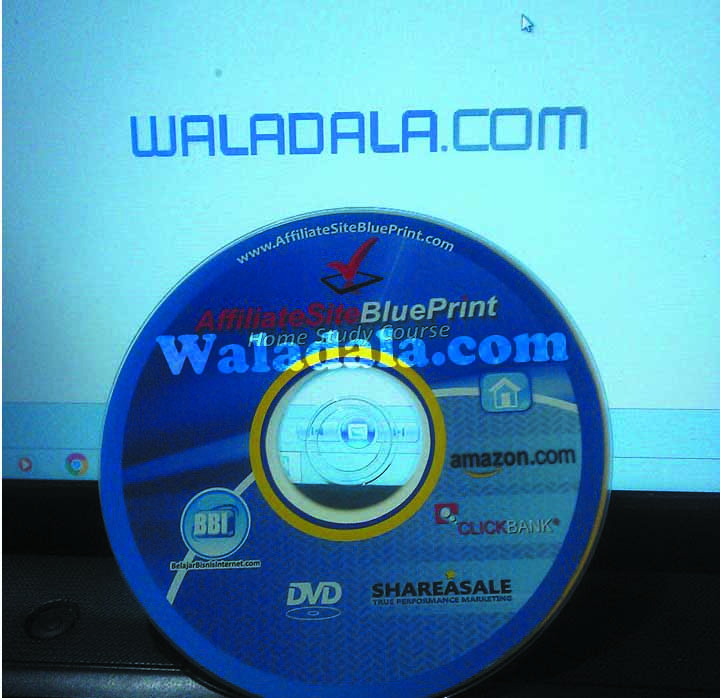 kaset cd belajar internet marketing