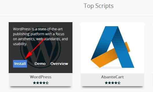 cara-instal-wordpress-di-cpanel-lima