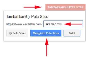 mengirim-peta-situs