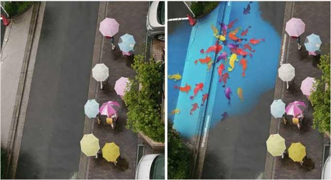 Proyek Monsoon – Sukses Menyulap Jalanan Korea Kala Hujan