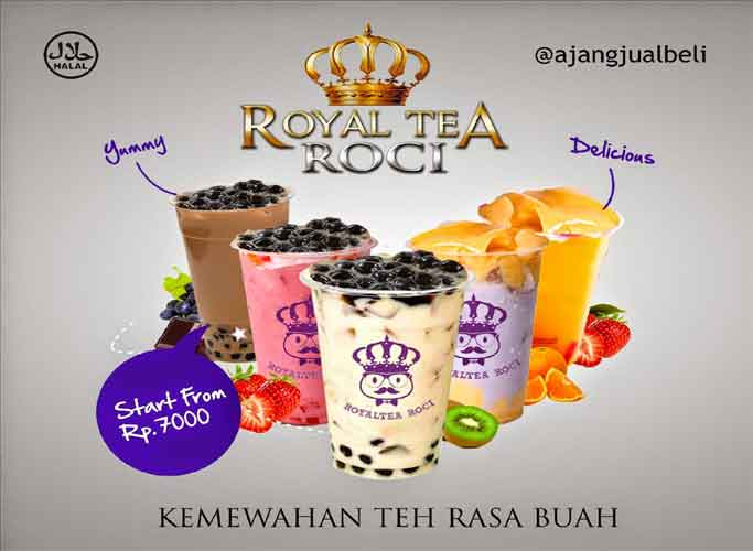 Royal Tea Roci - Waralaba Minuman Teh Dengan Konsep Istimewa