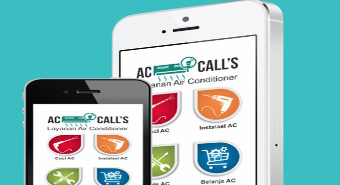 AC Calls – Layanan Service AC Berbasis Applikasi