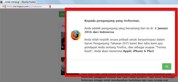 web-penipuan