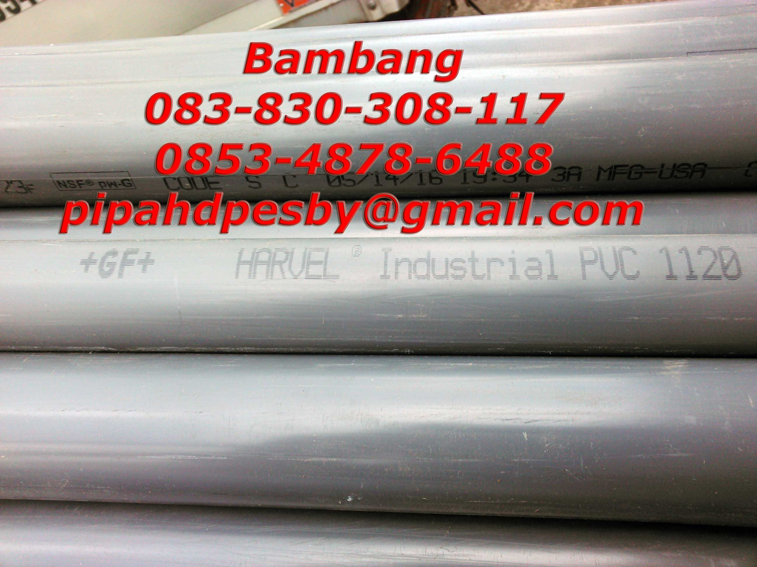 pipa pvc harvel dan spears