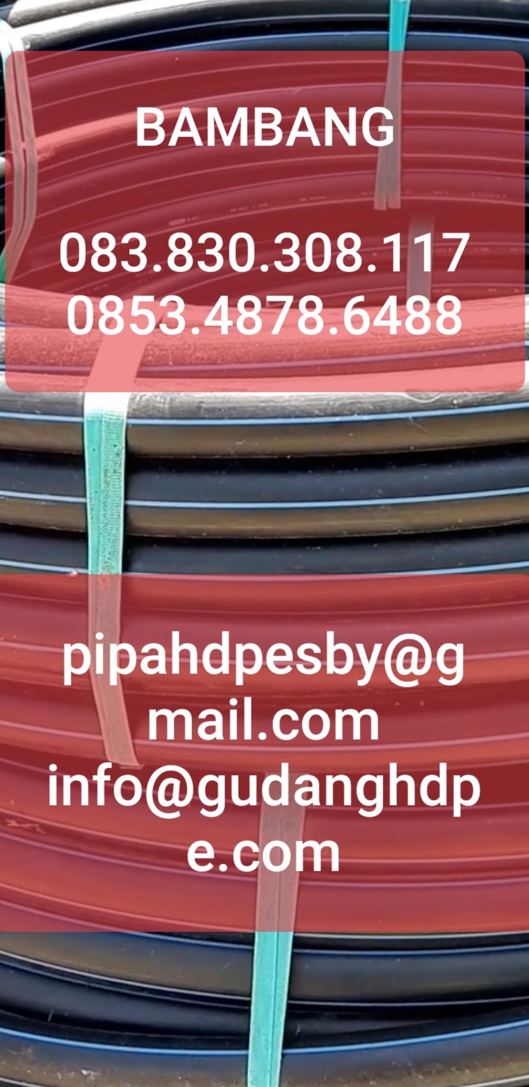 Pipa HDPE Agustus Update